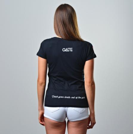 YOUR GATE - Dámské třičko černé S