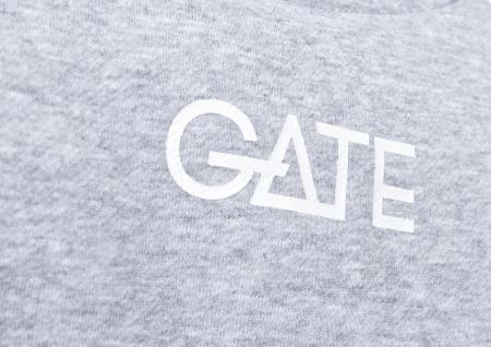 YOUR GATE - Pánská mikina šedá L